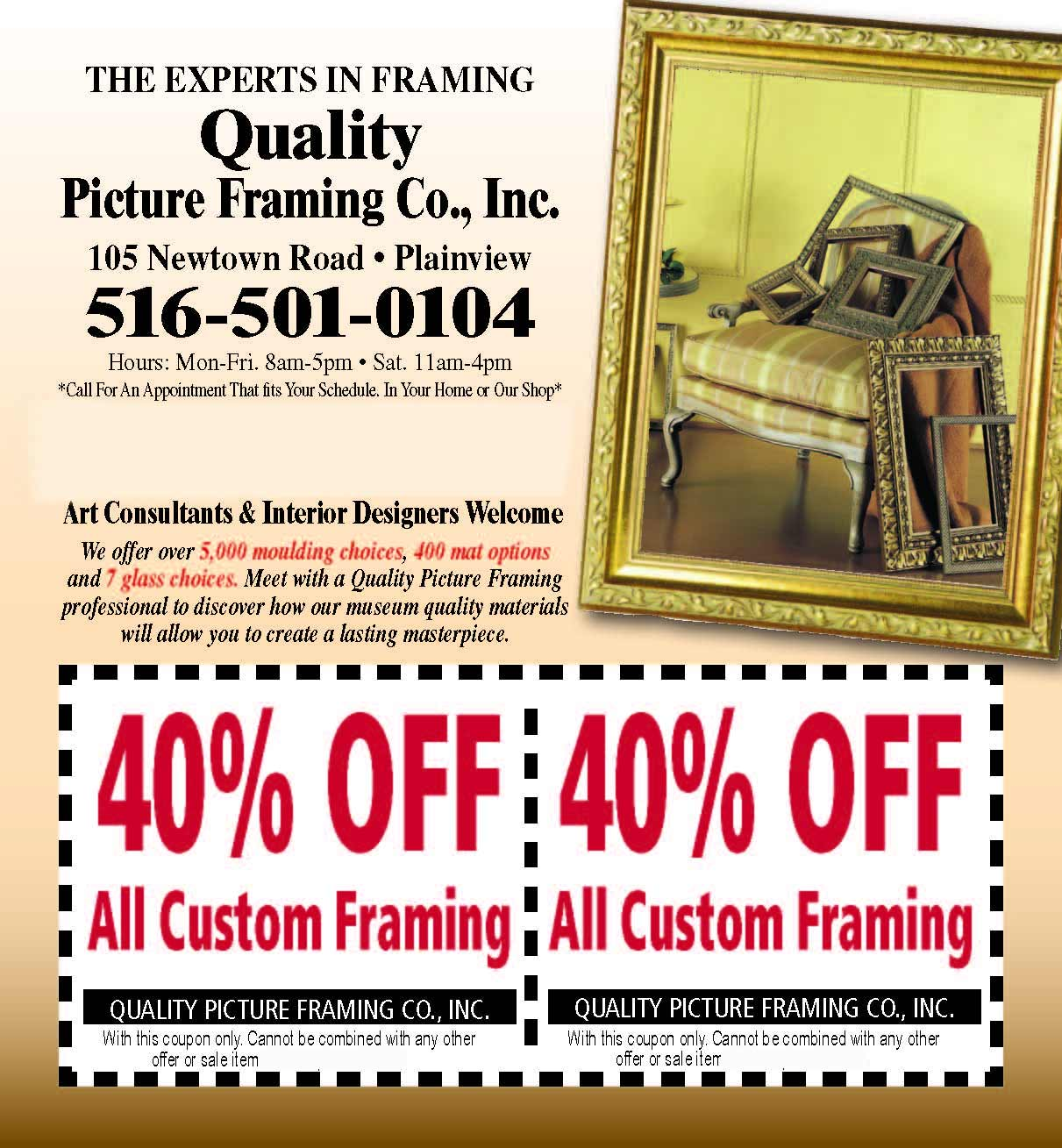 Picture Framing Supplies | Quality Picture Framing